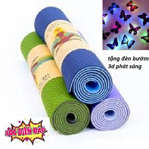 [ giá hủy diệt ] thảm tập yoga - thảm cao cấp - thảm tập tại nhà