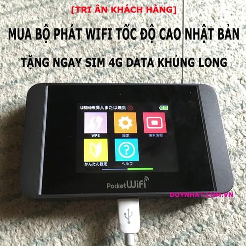 CỤC PHÁT WIFI 3G 4G POCKET 303HW - KHÔNG DÂY - ĐA MẠNG