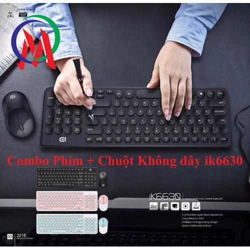 Combo Phím + Chuột ik6630