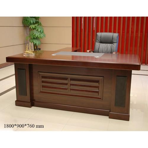 Bộ bàn giám đốc gỗ MDF nhập khẩu PH-BGD61839-18 cao cấp