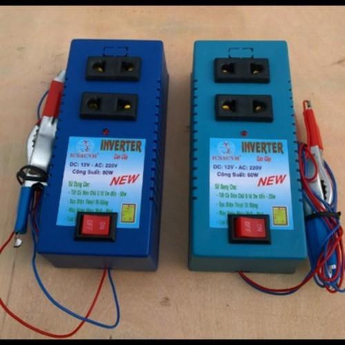 Thiết bị biến điện 12v ra 220v 60w