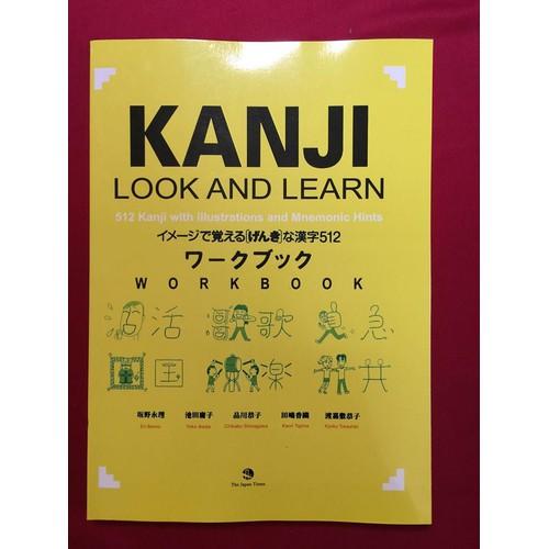 Sách Kanji look and learn phần bài tập