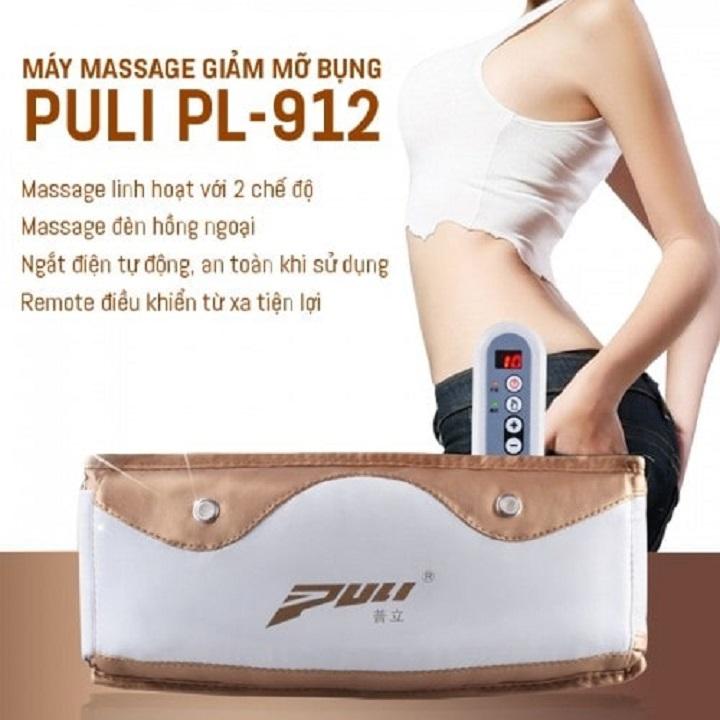 Máy massage giảm mỡ bụng Puli PL-912