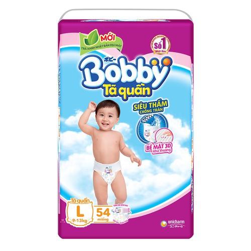 Bỉm Bobby quần size L54