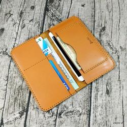 [Nhiều Màu] Bóp ví nam, ví dài cầm tay nam nữ da bò handmade – L2