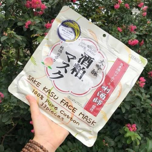 Combo 33 miếng Mặt nạ Sake Kasu Face Mask Nhật Bản giúp trắng da, dưỡng ẩm - 6902276 , 13628934 , 15_13628934 , 400000 , Combo-33-mieng-Mat-na-Sake-Kasu-Face-Mask-Nhat-Ban-giup-trang-da-duong-am-15_13628934 , sendo.vn , Combo 33 miếng Mặt nạ Sake Kasu Face Mask Nhật Bản giúp trắng da, dưỡng ẩm