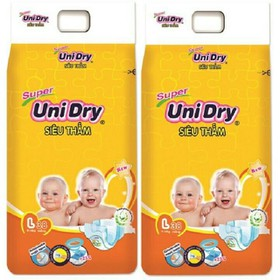 Combo 2 Bịch Tã Dán HOẶC 1 Bịch Tã Quần Unidry - UND82