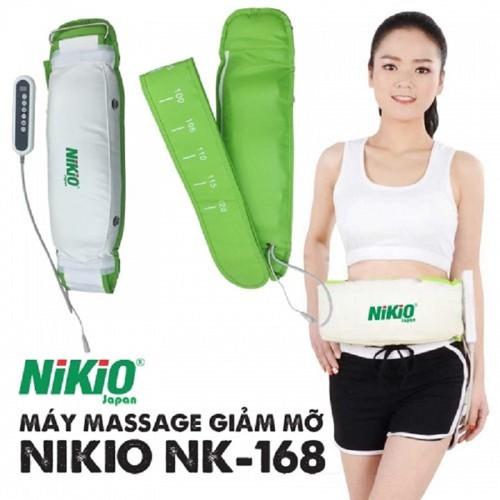 Máy Massage Giảm Mỡ Bụng Nhật Bản Nikio NK-168 - Hàng Cao Cấp