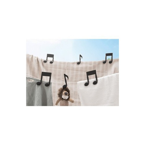 combo 2 Kẹp đa năng hình nốt nhạc 3987 Thế Giới Giá Sỉ