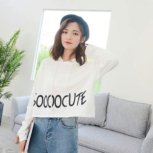 Áo cotton thun croptop
