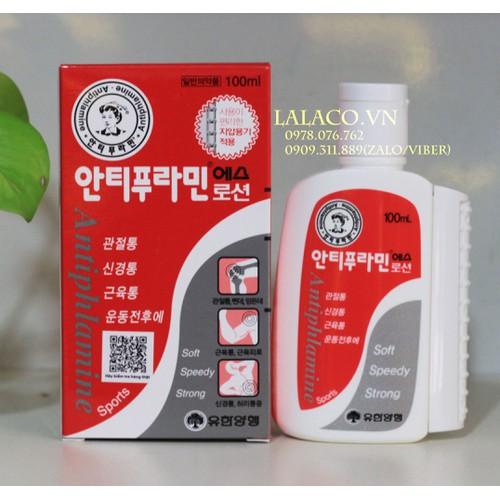 Dầu Nóng Xoa Bóp Hàn Quốc Antiphlamine 100ml