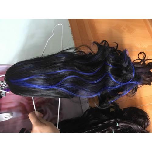 tóc giả ngoặm line xanh coban cao cấp - 6919457 , 13649109 , 15_13649109 , 200000 , toc-gia-ngoam-line-xanh-coban-cao-cap-15_13649109 , sendo.vn , tóc giả ngoặm line xanh coban cao cấp