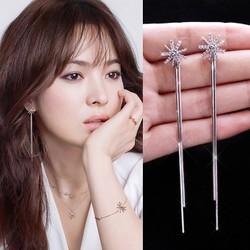 Bông tai sợi dài Song Hye Kyo