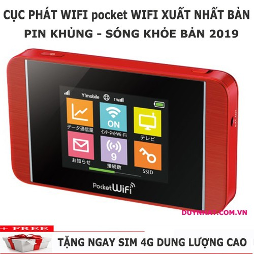 Bộ Phát Wifi Từ Sim 3G 4G - Phát Wifi Từ Usb 3G 4G - Wifi 3g - Wifi 4g Pocket 303HW