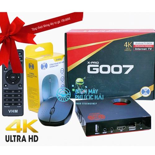 Android TV Box VHM X-PRO G007 -Black – 2GB RAM HÀNG VN - 6917024 , 13646414 , 15_13646414 , 1050000 , Android-TV-Box-VHM-X-PRO-G007-Black-2GB-RAM-HANG-VN-15_13646414 , sendo.vn , Android TV Box VHM X-PRO G007 -Black – 2GB RAM HÀNG VN