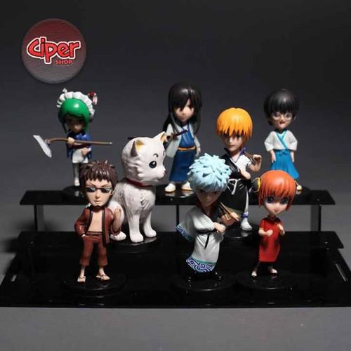 Bộ 8 nhân vật Gintama - Mô hình Gintama