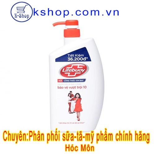 Sữa tắm Lifebouy bảo vệ vượt trội chai 850g - 6917046 , 13646457 , 15_13646457 , 129000 , Sua-tam-Lifebouy-bao-ve-vuot-troi-chai-850g-15_13646457 , sendo.vn , Sữa tắm Lifebouy bảo vệ vượt trội chai 850g
