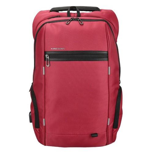 Balo Kingsons Power Smart Backpack  chống nước màu đỏ
