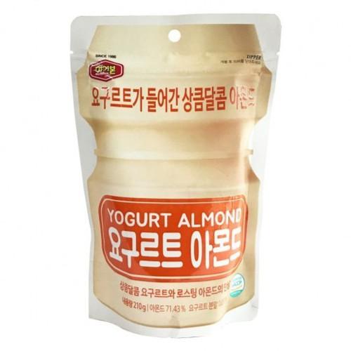 Hạt Hạnh Nhân Sữa Chua Hàn Quốc 210g