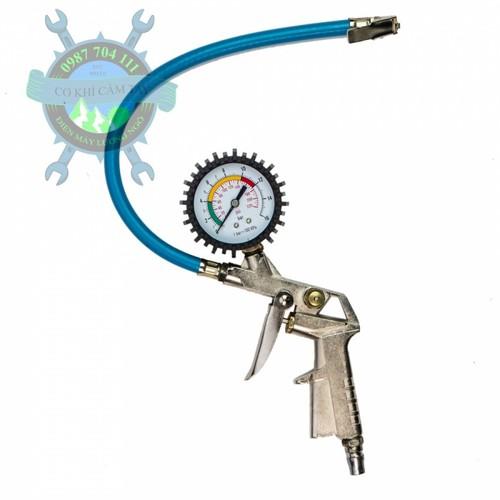 Súng bơm lốp hơi oto xe máy đồng hồ áp suất - 4484200 , 13630547 , 15_13630547 , 230000 , Sung-bom-lop-hoi-oto-xe-may-dong-ho-ap-suat-15_13630547 , sendo.vn , Súng bơm lốp hơi oto xe máy đồng hồ áp suất