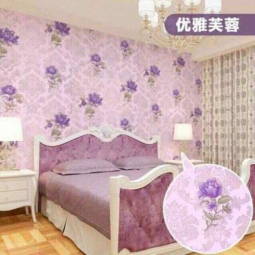 gấy dán tường hoa hồng tím có keo dán sẵn cuộn 10m rôngn 45cm - 6907083 , 13634651 , 15_13634651 , 119000 , gay-dan-tuong-hoa-hong-tim-co-keo-dan-san-cuon-10m-rongn-45cm-15_13634651 , sendo.vn , gấy dán tường hoa hồng tím có keo dán sẵn cuộn 10m rôngn 45cm