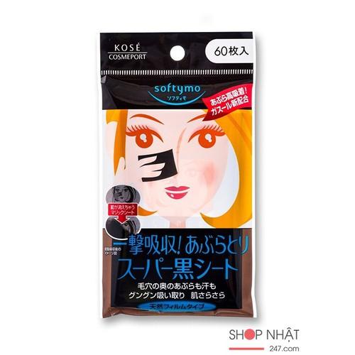 Giấy thấm dầu Kose Softymo than hoạt tính 60 tờ của Nhật Bản - 6903894 , 13631069 , 15_13631069 , 80000 , Giay-tham-dau-Kose-Softymo-than-hoat-tinh-60-to-cua-Nhat-Ban-15_13631069 , sendo.vn , Giấy thấm dầu Kose Softymo than hoạt tính 60 tờ của Nhật Bản