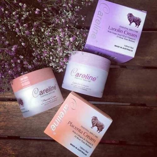 Kem dưỡng da nhau thai cừu Careline Úc - Hộp màu cam