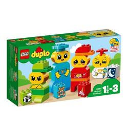 Bộ lắp ráp Bộ Cảm Xúc Đầu Tiên Của Bé - LEGO Duplo 10861 My First Emotions