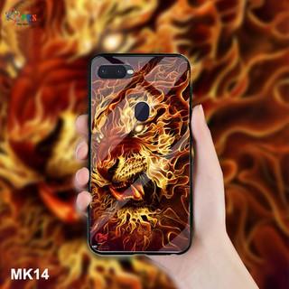 Ốp lưng Oppo F9 in 3D Hổ mặt lưng kính cường lực sáng bóng - F9 MK14 thumbnail