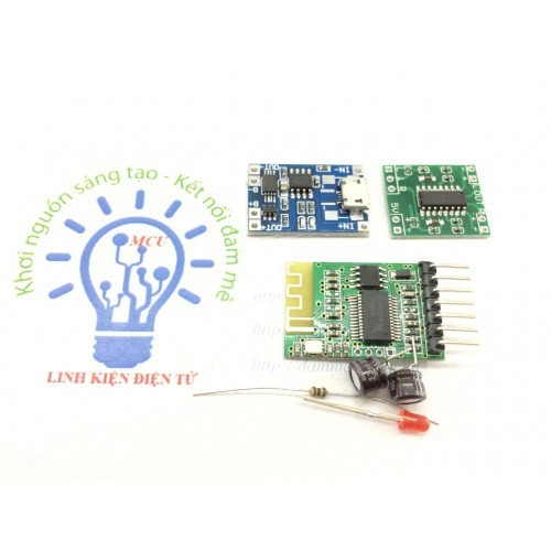 Combo 3 Mạch Loa Bluetooth 4.0, Sạc Pin, Pam8403