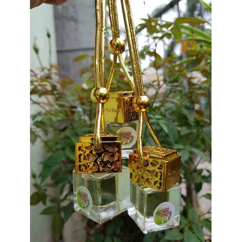 Tinh dầu treo Sả Chanh nắp vàng sang chảnh_Treo xe ô tô, treo phòng khử mùi, tạo hương thơm mát