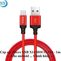 Cáp sạc Micro USB HOCO X14 -1m - Cho - android - Chính hãng chất lượng cao