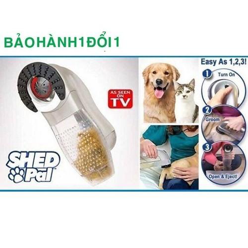 Máy hút lông rụng cho chó mèo Shed Pal giúp lấy lông không gây đau thú cưng