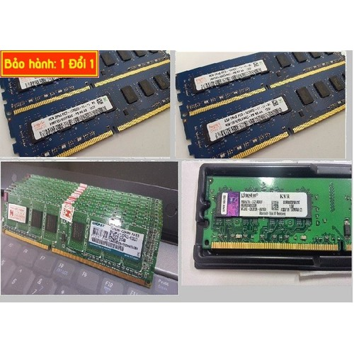 Ram 4G Buss 1333 cho máy bàng bảo hành 3 năm