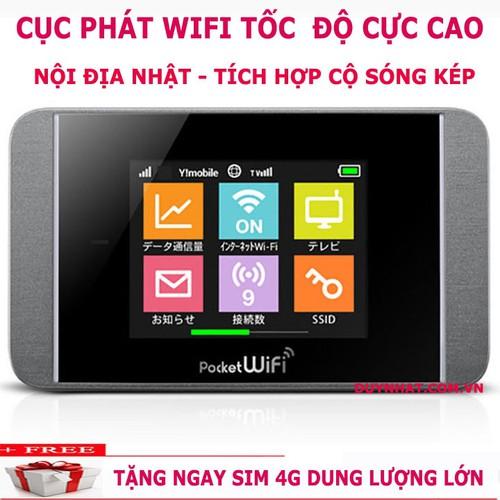Bộ phát wifi 4G Pocket 303HW 43.9Mbps,Thiết bị phát wifi từ sim 4G