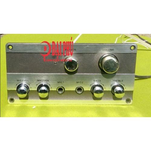 Bảng mạch karaoke 2.0 công suất 60 - 120W dùng nguồn AC 15V đôi hoặc +-18VDC