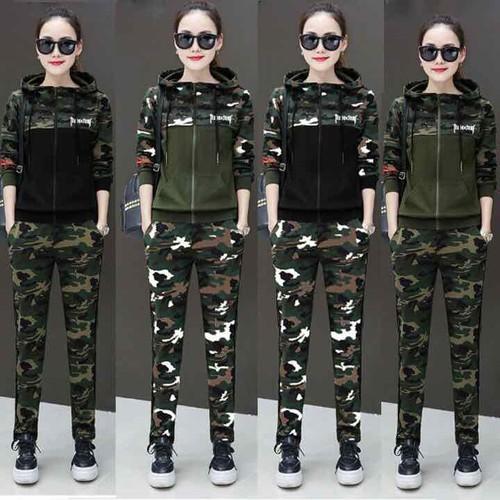 Bộ quần áo thể thao nữ lính cực ngầu TT220G