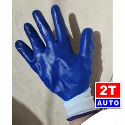 Găng tay bao tay vải phủ mủ cao su loại tốt-một đôi
