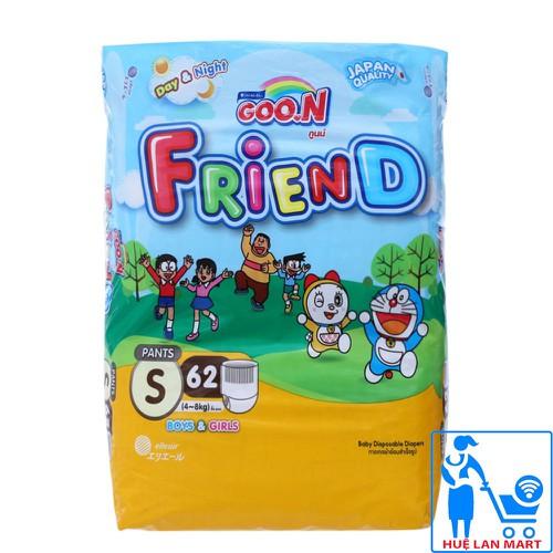 [CHÍNH HÃNG] Tã Quần GOO.N Friend Size S62