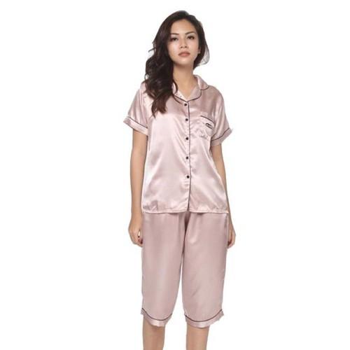 Bộ Pijama cộc quần lửng cực đẹp - Hàng loại 1