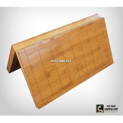 Bàn cờ tướng gỗ Trúc Gấp Đôi  cỡ lớn 48x52cm