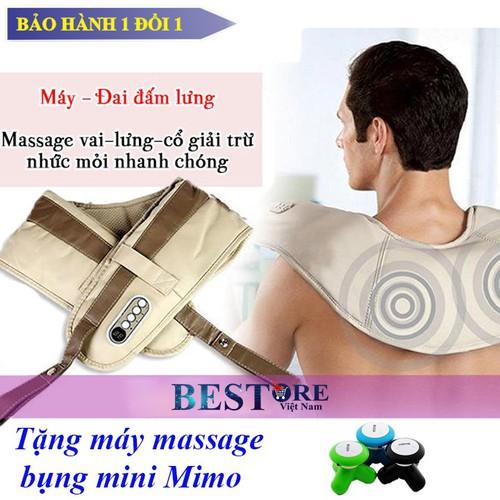 Máy đấm lưng cổ vai gáy Hada - Tặng máy massage bụng mini - 6923294 , 13653817 , 15_13653817 , 400000 , May-dam-lung-co-vai-gay-Hada-Tang-may-massage-bung-mini-15_13653817 , sendo.vn , Máy đấm lưng cổ vai gáy Hada - Tặng máy massage bụng mini
