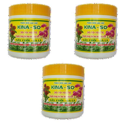 Bộ 3 hủ phân bón kích đâm chồi, xanh lá cho phong lan, hoa hồng và cây kiểng KINA 50 - hủ 100g - 6923293 , 13653816 , 15_13653816 , 125000 , Bo-3-hu-phan-bon-kich-dam-choi-xanh-la-cho-phong-lan-hoa-hong-va-cay-kieng-KINA-50-hu-100g-15_13653816 , sendo.vn , Bộ 3 hủ phân bón kích đâm chồi, xanh lá cho phong lan, hoa hồng và cây kiểng KINA 50 - hủ 100g