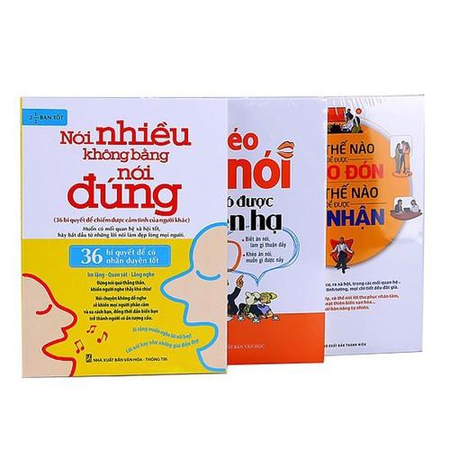 Combo Khéo Ăn Nói Sẽ Có Được Thiên Hạ, Nói Nhiều Không Bằng Nói Đúng, Nói Thế Nào Để Chào Đón Làm Thế Nào Để Ghi Nhận - 6925187 , 13656211 , 15_13656211 , 204000 , Combo-Kheo-An-Noi-Se-Co-Duoc-Thien-Ha-Noi-Nhieu-Khong-Bang-Noi-Dung-Noi-The-Nao-De-Chao-Don-Lam-The-Nao-De-Ghi-Nhan-15_13656211 , sendo.vn , Combo Khéo Ăn Nói Sẽ Có Được Thiên Hạ, Nói Nhiều Không Bằng Nói Đ