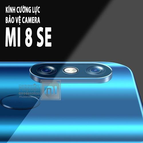 Bộ 01 miếng dán Kính cường lực Camera cho máy Xiaomi Mi 8 SE - Full Box
