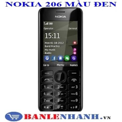NOKIA 206 2 SIM MÀU ĐEN