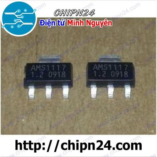 [4 CON] IC AMS1117-1.2V SOT223 [SMD Dán]