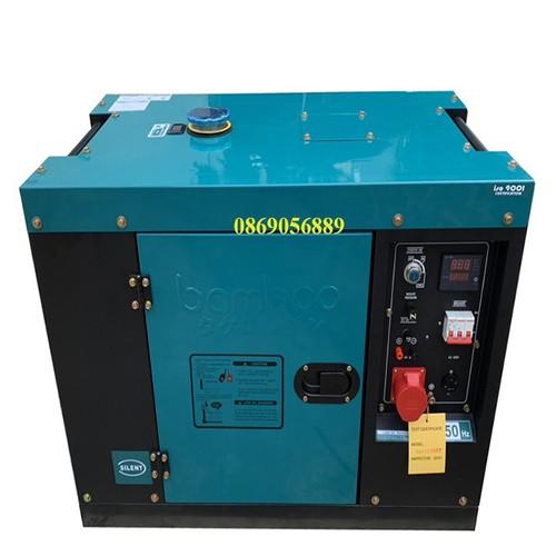 Máy phát điện Bamboo chạy dầu 8KW 3 pha chống ồn, cách âm - 6944664 , 13682231 , 15_13682231 , 39000000 , May-phat-dien-Bamboo-chay-dau-8KW-3-pha-chong-on-cach-am-15_13682231 , sendo.vn , Máy phát điện Bamboo chạy dầu 8KW 3 pha chống ồn, cách âm