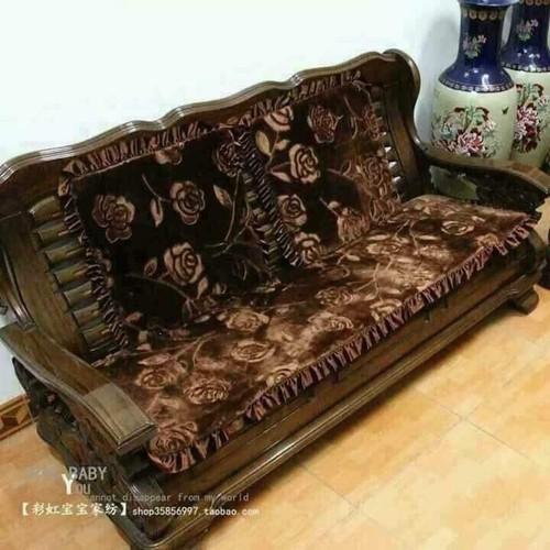 thảm ghế hoa hồng