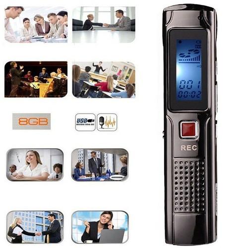 Máy ghi âm chuyên nghiệp GH-809 - Thiết kế hợp kim sang trọng- sự lựa chọn xứng đáng của bạn